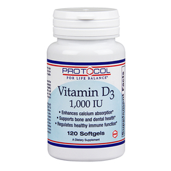 Protocol for Life Balance Vitamin D-3