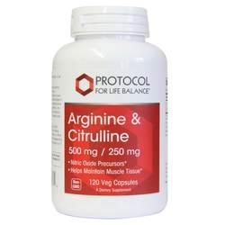 Protocol for Life Balance Arginine and Citrulline