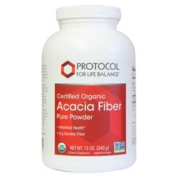 Protocol for Life Balance Certified Organic Acacia Fiber Pure Powder