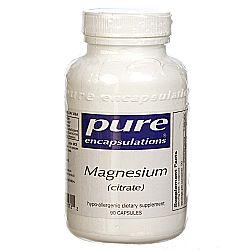 Pure Encapsulations Magnesium Citrate
