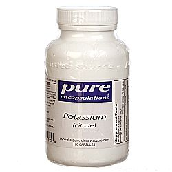 Pure Encapsulations Potassium Citrate