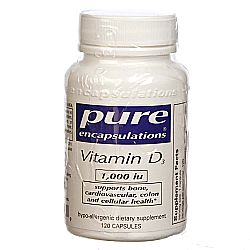 Pure Encapsulations Vitamin D3 1-000 IU