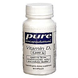 Pure Encapsulations Vitamin D3 5-000 IU
