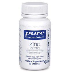Pure Encapsulations Zinc (citrate)