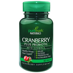 Puremark Naturals Cranberry Plus Probiotic