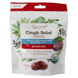 Quantum Cough Relief Lozenges Bing Cherry