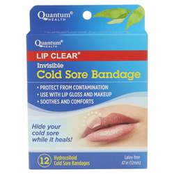 Quantum Super Lipcare+ Invisible Cold Sore Bandage