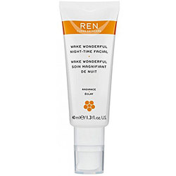 REN Clean Skincare Radiance Wake Wonderful Night-Time Facial