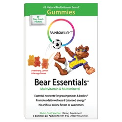 Rainbow Light Gummy Bear Essentials Multivitamin