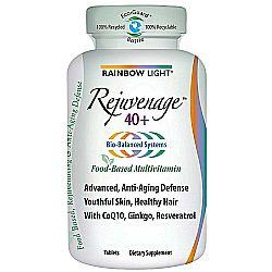 Rainbow Light Rejuvenage 40 +  Multivitamin