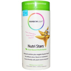Rainbow Light Nutri-Stars Children's Multichew