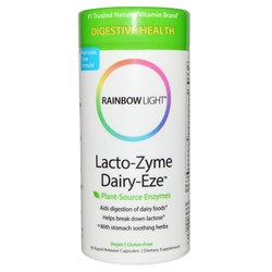rainbow light lacto zyme dairy eze 90 vcapsules. Black Bedroom Furniture Sets. Home Design Ideas