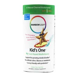 Rainbow Light Kids One Chewable Multivitamin and Mineral