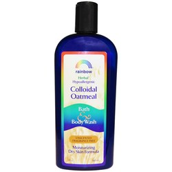 Rainbow Research Colloidal Oatmeal Bath  Body Wash - Unscented