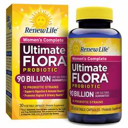 Renew Life Women's Complete Ultimate Flora
