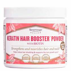 Reserveage Organics Keratin Hair Booster with Biotin  Resveratrol