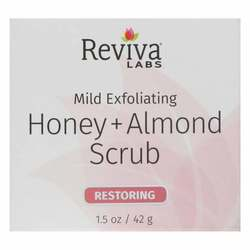 Reviva Labs Honey Almond Scrub Restoring Mild Exfoliating