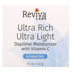Reviva Labs Ultra Rich Ultra Light Daytime Moisturizer with Vitamin C