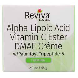 Reviva Labs Alpha Lipoic Acid Vit.C Ester  DMAE Cream