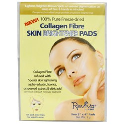 Reviva Labs Collagen Fibre Skin Brightener Pads