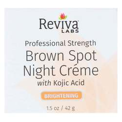 Reviva Labs Brown Spot Night Cream with Kojic Acid