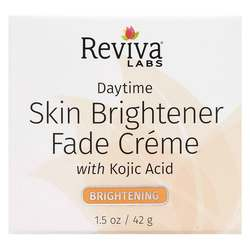 Reviva Labs Skin Lightener Day Fade Cream w Kojic Acid