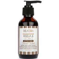 Shea Terra Organics Kigelia and Licorice After Sun Facial Wash
