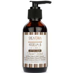 Shea Terra Organics Kigelia and Licorice After Sun Facial Wash
