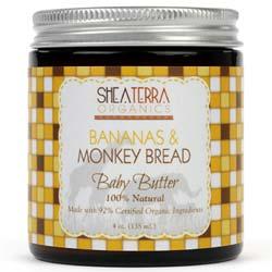 Shea Terra Organics Banana and Monkey Bread Baby Butter