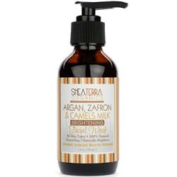 Shea Terra Organics Argan- Zafran and Camel's Milk Facial Wash
