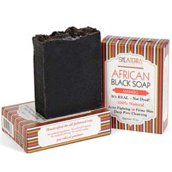 Shea Terra Organics African Black Soap Bath Bar