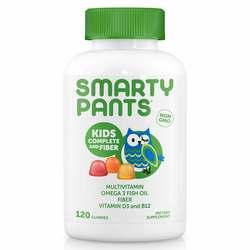 SmartyPants Vitamins Kids Complete + Fiber