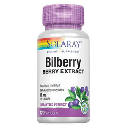 Solaray Bilberry Berry Extract