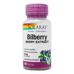 Solaray Bilberry Berry Extract