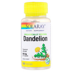 Solaray Organically Grown Dandelion