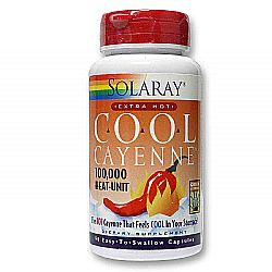 Solaray Cool Cayenne Extra Hot