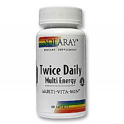 Solaray Twice Daily Multi Energy