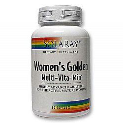 Solaray Women's Golden Multi-Vita-Min