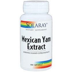 Solaray Mexican Yam  Adrenal Gland