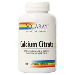 Solaray Calcium Citrate