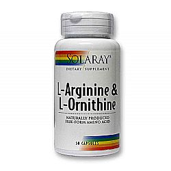 Solaray L-Arginine  Ornithine Free Form
