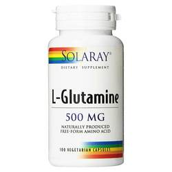 Solaray L-Glutamine Free Form