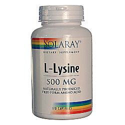 Solaray L-Lysine Free Form
