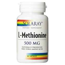 Solaray L-Methionine Free Form