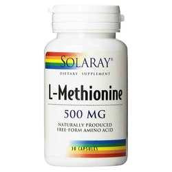 Solaray L-Methionine Free Form
