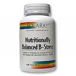 Solaray Nutritionally Balanced B-Stress