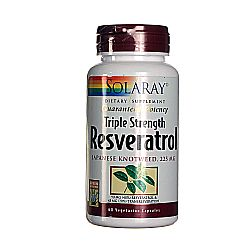 Solaray Resveratrol Triple Strength