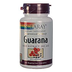 Solaray Guarana Seed Extract