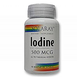 Solaray Iodine as Potassium Iodide