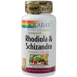 Solaray Rhodiola  Schizandra